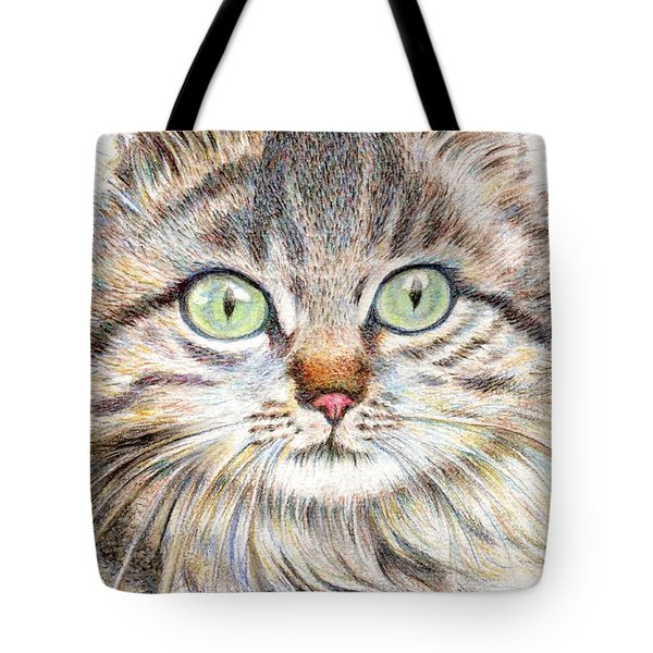 A Handsome Cat  Tote Bag