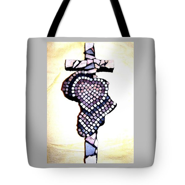 A Heart For Africa Cross Tote Bag