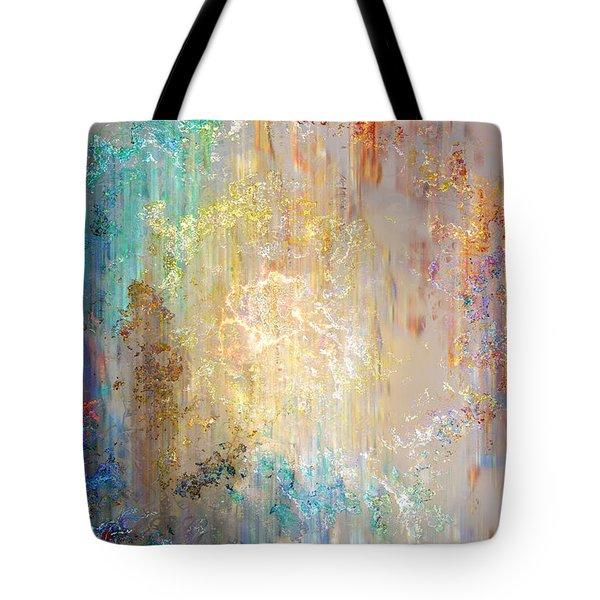 A Heart So Big - Abstract Art Tote Bag