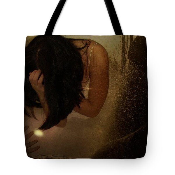 A Helping Hand  A Glint Of Light Tote Bag