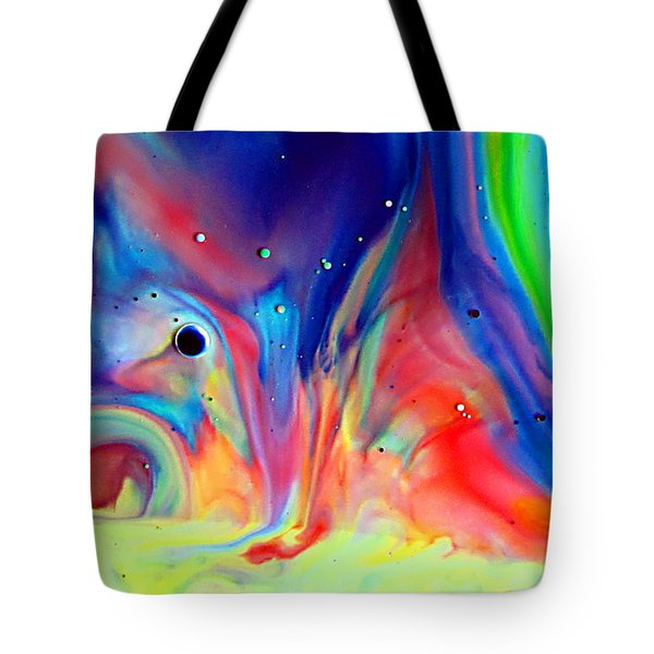 A Higher Frequency Tote Bag by Joyce Dickens