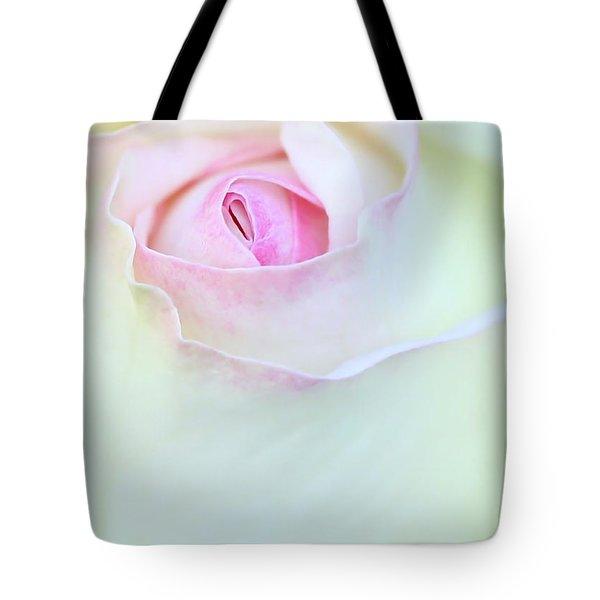 A Hint Of Pink Tote Bag by Sabrina L Ryan