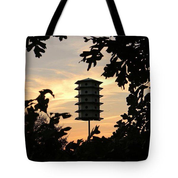 A Home Among The Trees Tote Bag by Jean Goodwin Brooks