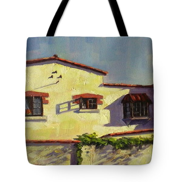 A Home In Barranco Tote Bag