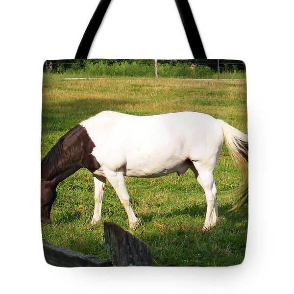 A Horse Named Dipstick Tote Bag