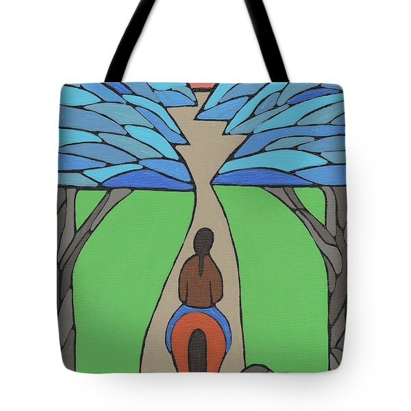 Tote Bag featuring the painting A Horse Of A Different Colour by Barbara St Jean