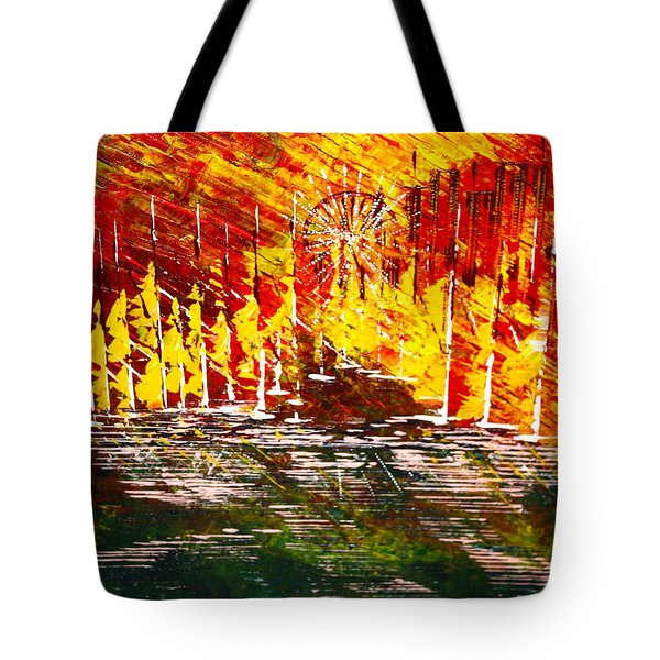 A Hot Summer Day.- Sold Tote Bag