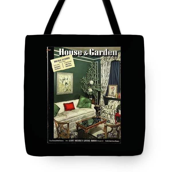 A House And Garden Cover Of Lady Mendl's Sitting Tote Bag