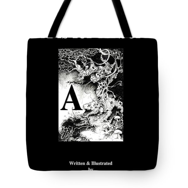 A Is For Arbol Tote Bag by Julio Lopez