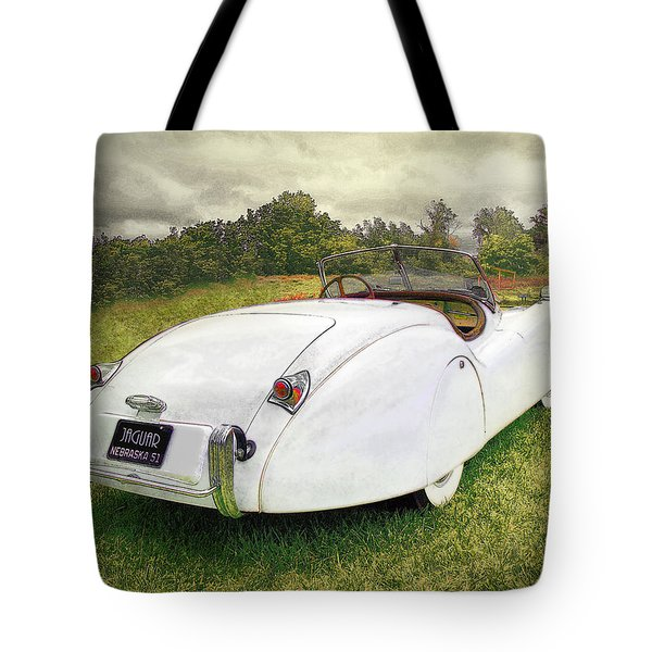 A Jag In The Park Tote Bag