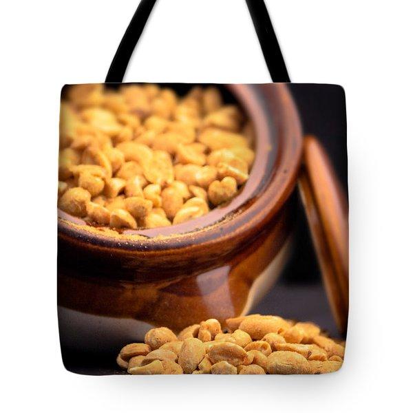 A Jar Of Peanuts Tote Bag
