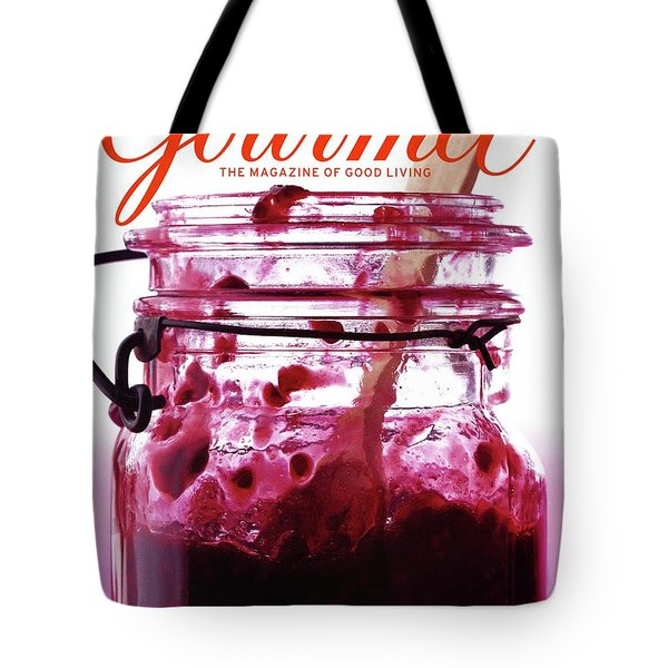 A Jar Of Skillet Blackberry Jam Tote Bag