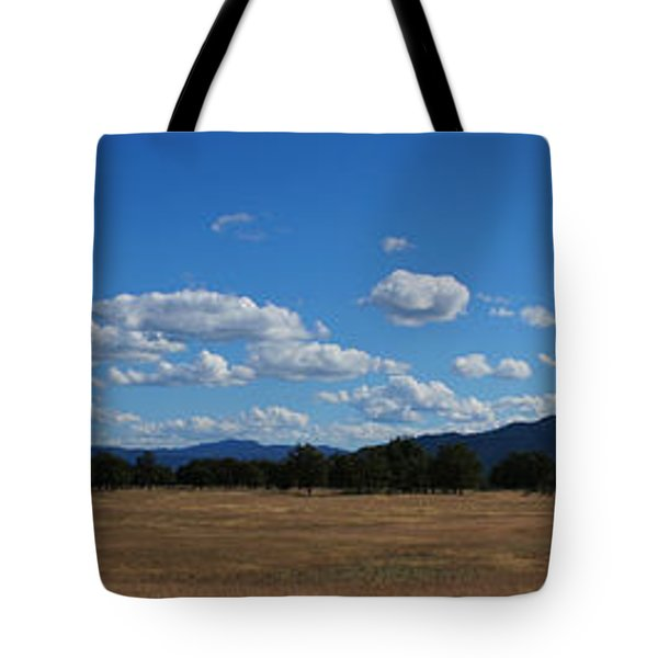 A June Panorama In Southern Oregon Tote Bag