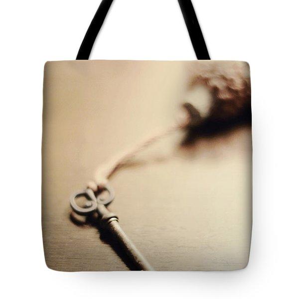 A Key... Tote Bag