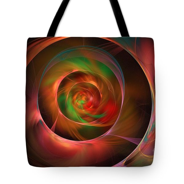 A Kind Of Inner Opalescence Tote Bag