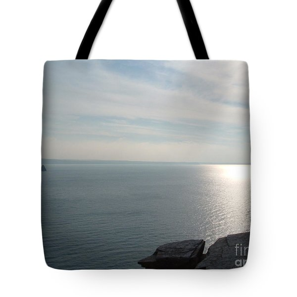 A King's View Tote Bag by Richard Brookes