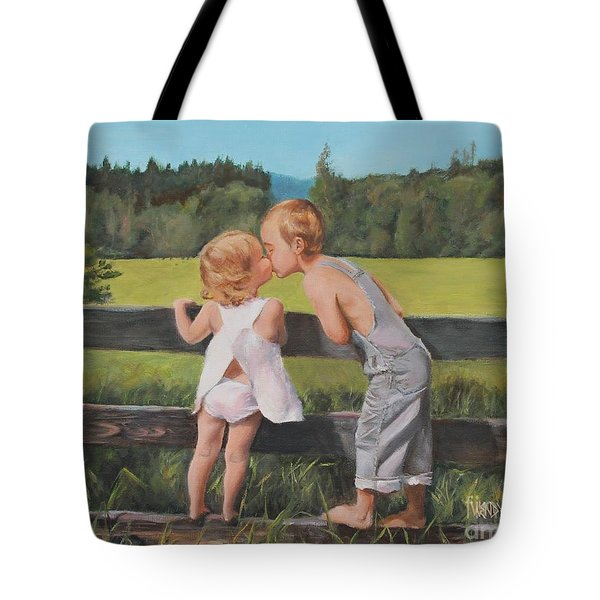 A Kiss For Little Sister Tote Bag