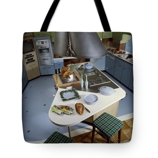 A Kitchen Designed By Ralph & Jane Bonnell Tote Bag