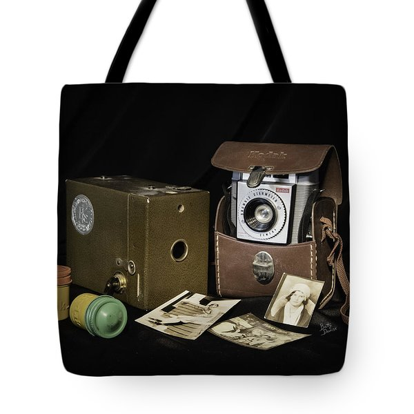 Tote Bag featuring the photograph A Kodak Moment... by Betty Denise