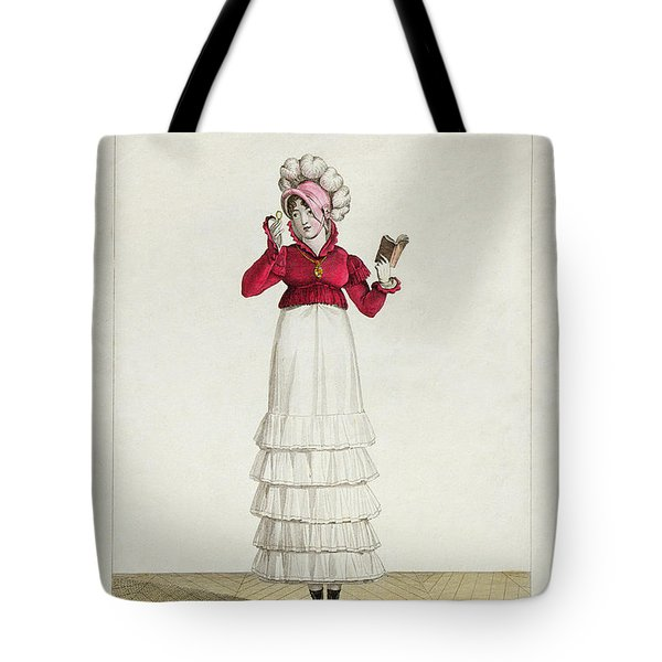 A Lady In A Levantine Hat Tote Bag