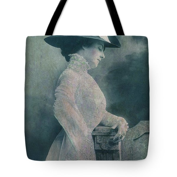 A Lady Ponders Tote Bag by Sarah Vernon