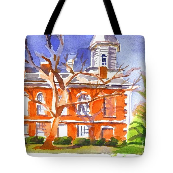 A Late Autumns Saturday Afternoon Tote Bag by Kip DeVore