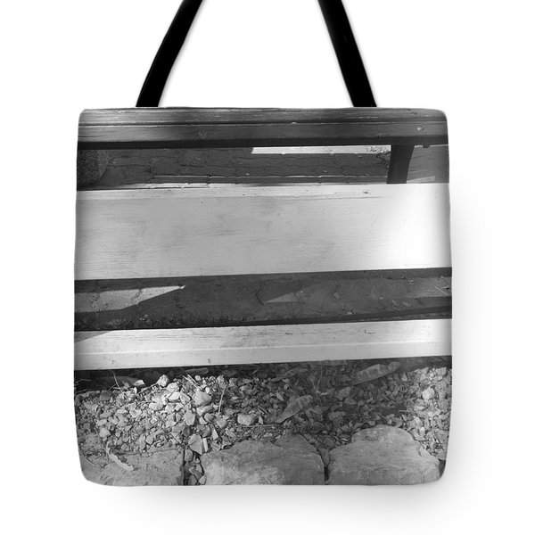 Tote Bag featuring the photograph A Layered  Reconstruction by Esther Newman-Cohen
