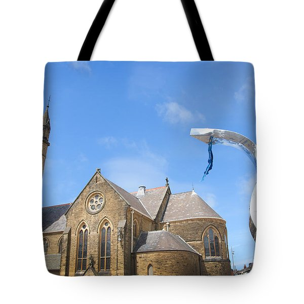 A Leap Of Faith Tote Bag