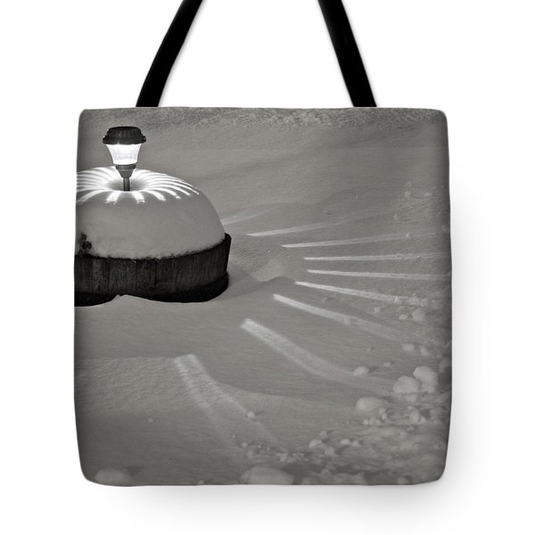 A Light In The Storm Tote Bag by Kathleen Scanlan