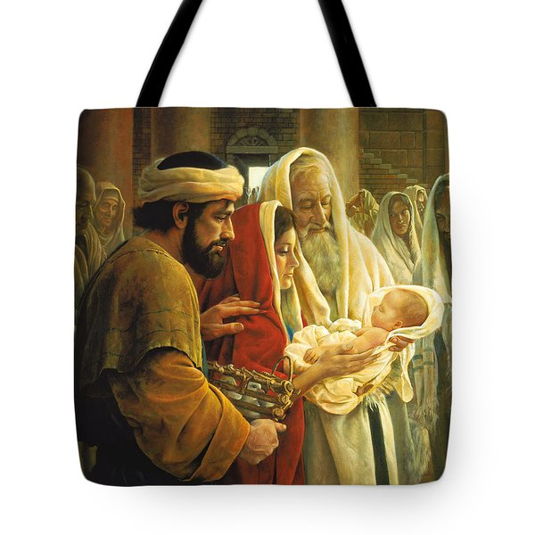 A Light To The Gentiles Tote Bag