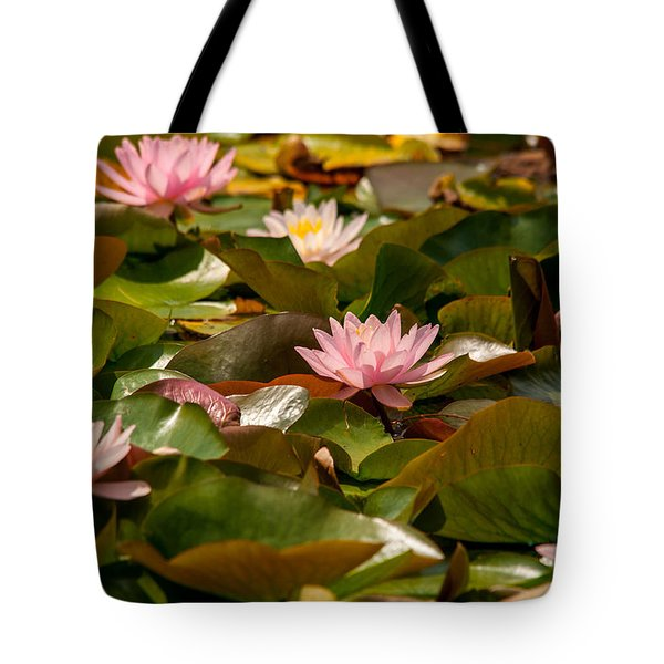 A Lily Carpet Tote Bag