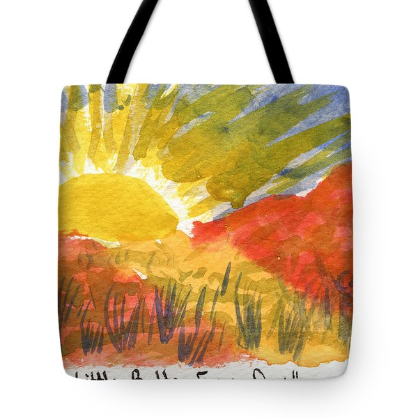 A Little Better Every Day Tote Bag
