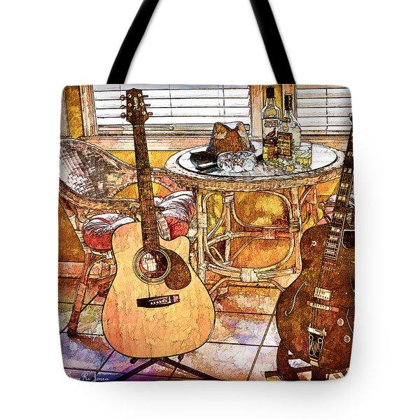 A Little Bit Country-a Little Bit Blues Tote Bag