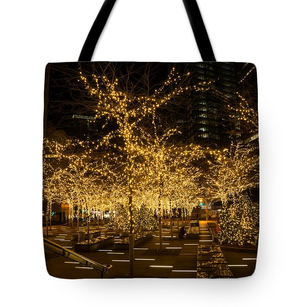 A Little Golden Garden In The Heart Of Manhattan New York City Tote Bag