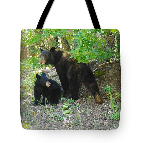 A Little Growl Before Departing Tote Bag by Jeff Swan
