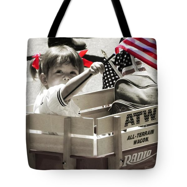 A Little Pride Tote Bag by Leah Moore