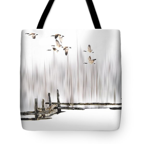 A Little Winter Magic Tote Bag by Andrea Kollo