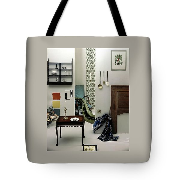 A Living Room Designed By Raleigh Tavern Tote Bag