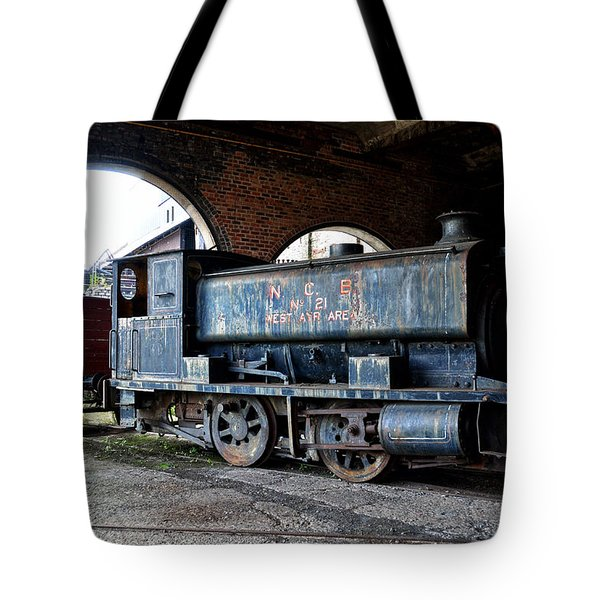 A Locomotive At The Colliery Tote Bag