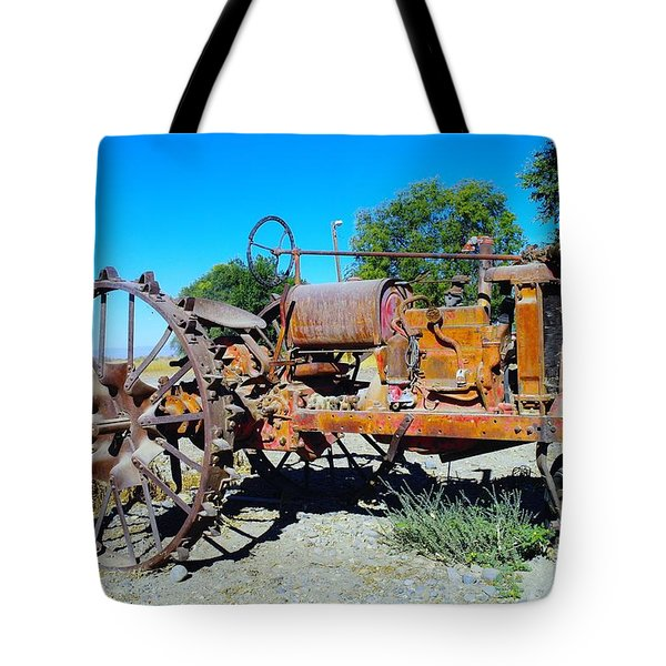 A Long Right Hand Turn  Tote Bag by Jeff Swan