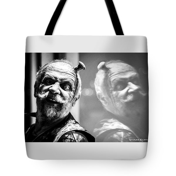 A Look Full Of Hatred Tote Bag
