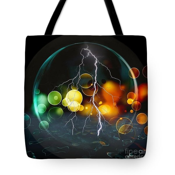 A Look Into The Future By Nico Bielow Tote Bag by Nico Bielow
