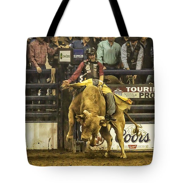 A Lot Of Bull At The National Stock Show Tote Bag