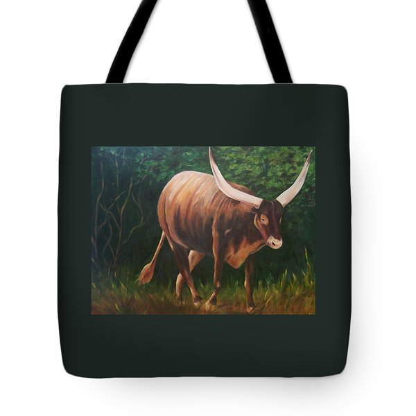 A Lot Of Bull, Watusi  Tote Bag
