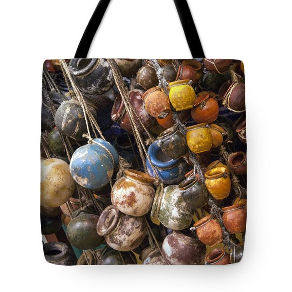 A Lot Of Crock Tote Bag by Bob Phillips
