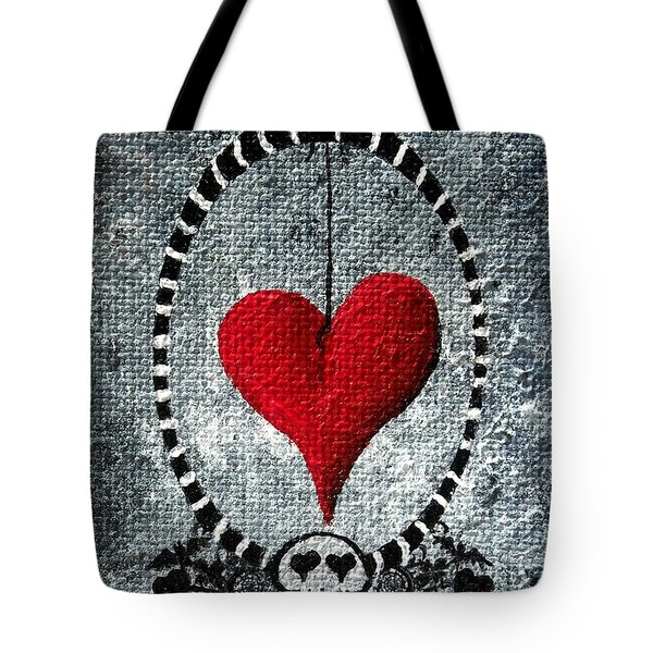A Love Story 5 Tote Bag by Oddball Art Co by Lizzy Love