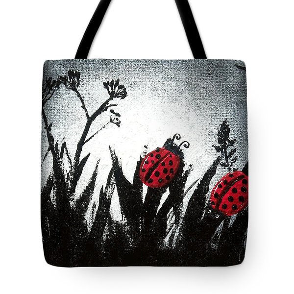 A Love Story No 14 Tote Bag by Oddball Art Co by Lizzy Love