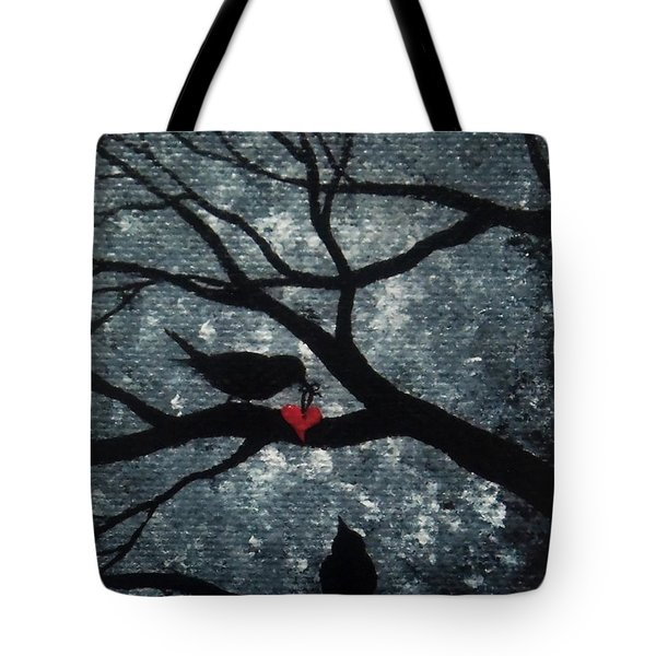 A Love Story No 7 Tote Bag by Oddball Art Co by Lizzy Love