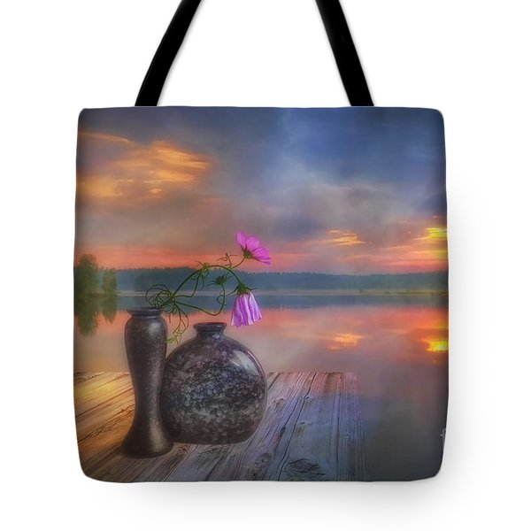 A Lovely Morning Tote Bag by Veikko Suikkanen