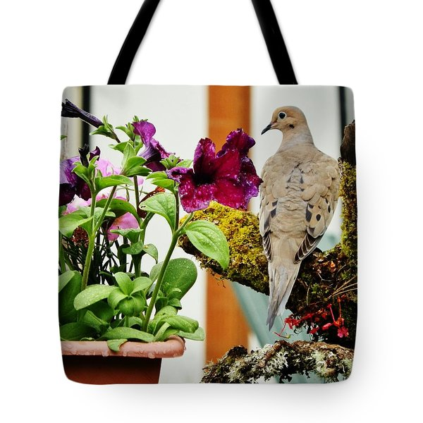 Tote Bag featuring the photograph A Lovely Morning by VLee Watson